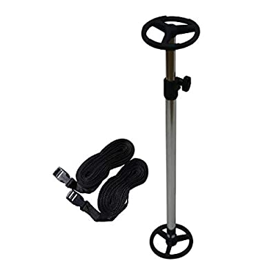 Oceansouth Telescopic Boat Cover Support Pole with Adjustable Webbing Straps