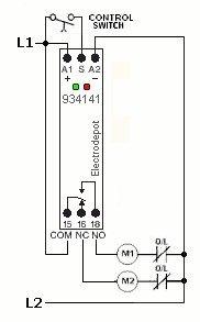 Mechanical Latching Relay Latch Memory 12v 24v 120v 240v DIN Rail Mount 934141