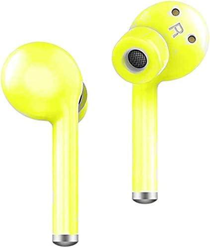 Bluetooth Wireless Headset Yellow