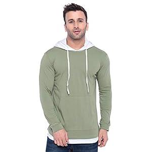 GRITSTONES Men's Cotton Hooded Hoodie