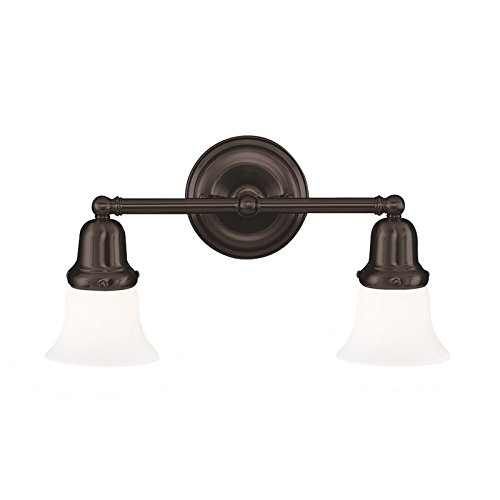 Hudson Valley 582-OB-341 Edison Vanity, 2-Light 200 Total Watts, Old Bronze