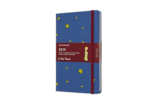 Moleskine Limited Edition Petit Prince Hard Cover 2019 12 Month Weekly Planner, Large (5