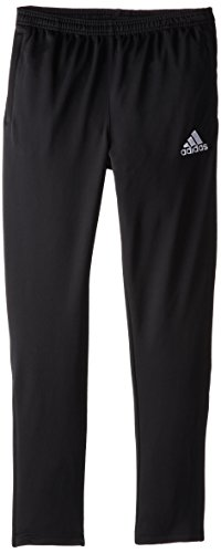 adidas Youth Soccer Core Pants, Black/White, Large