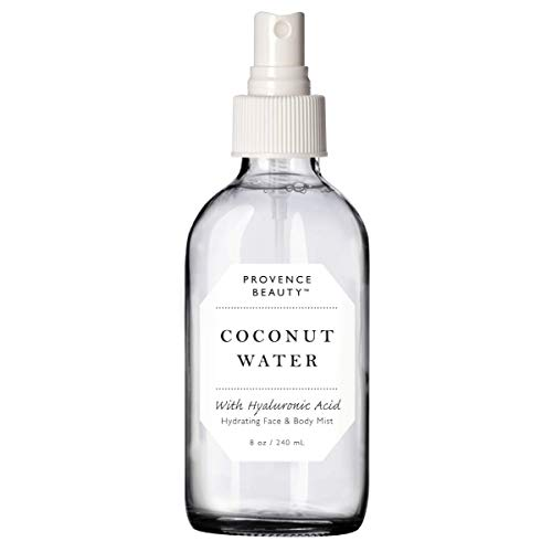 - Provence Beauty | Face & Body Mist Spray - Hydrating Coconut Water With Moisturizing Hyaluronic Acid | Instant Cooling, Conditoning, Hydrating | 8 FL OZ