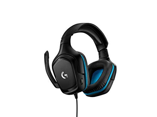 Logitech G432 Wired Gaming Headset, 7.1 Surround Sound, DTS Headphone:X 2.0, 50 mm Audio Drivers, USB and 3.5 mm Audio…