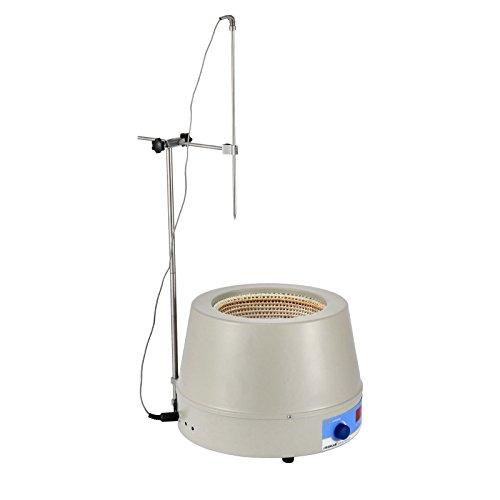Geindus Digital Display Stirring Heating Mantle 2000ml Heating Mantle Stirrer 0~1400 RPM 450W Magnetic Stirrer 450℃