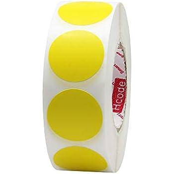 Amazon.com: Redondo Código De Color etiquetas Pegatinas de 1 ...