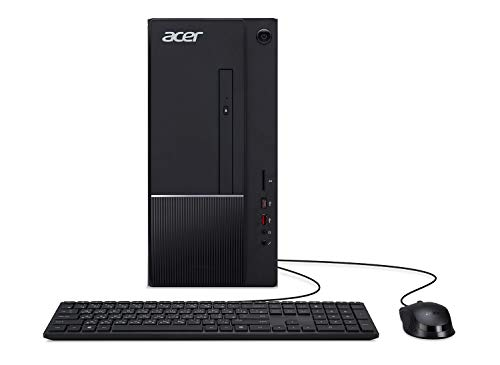 Acer Aspire TC-865-UR14 Desktop, 9th Gen Intel Core i5-9400, 8GB DDR4, 1TB 7200RPM HDD, 8X DVD, 802.11ac WiFi, USB 3.1 Type C, Windows 10 Home