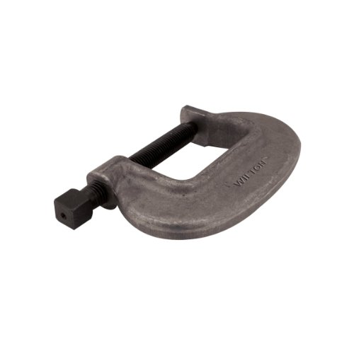 "Wilton 14554 4-Fc, ""O"" Series Bridge C-Clamp-Full Closing Spindle, 0-Inch-4-1/2-Inch Jaw Opening, 2-3/4-Inch Throat Depth"