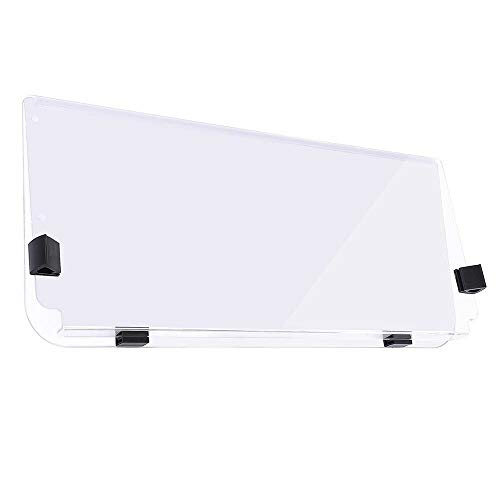 Chi Mercantile Folding Acrylic Golf Cart Windshield Accessories Clear Down Fold Easy to Install Impact-Resistant (Club Car DS 1982-2000)