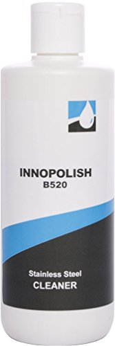 Stainless Steel Cleaner and Polish - Innopolish B520 Aceros Metal (8.45 ounces) protects appliances from fingerprints and leaves a streakless shine