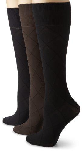 Gold Toe Womens Pattern Trouser 3 Pack
