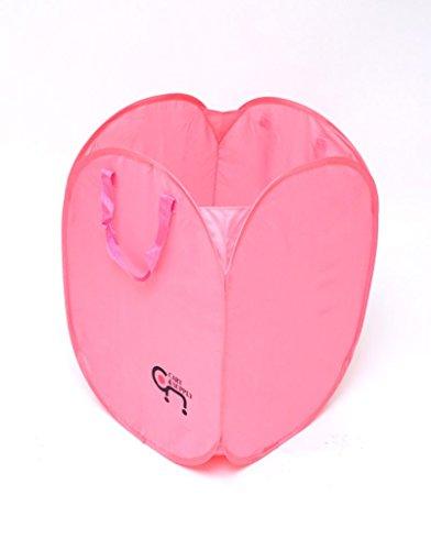 - CART&SUPPLY Heavy Duty Laundry Hamper (Pink) -Jumbo