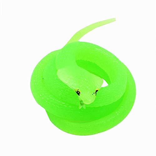 AfazfaNew Rubber Snake Toys Snakes Party Bag Fillers Halloween Prop Joke Soft -