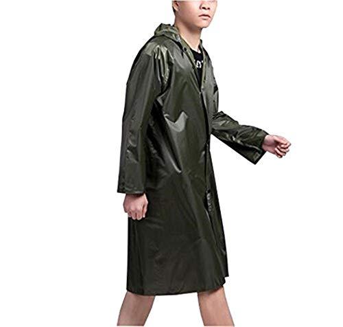 Air Poncho Avec Dame Capuche En Des De Plein Manteau Pluie Épaisse Grün Raincoat Casual Imperméable À Couleurs vq0zxvwRI
