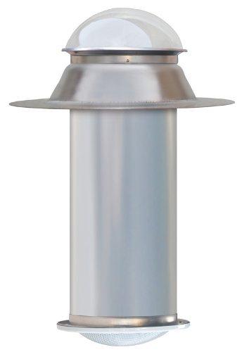 (Natural Light, Tubular Skylight Kit, Flat, White Diffuser, 13 inch)