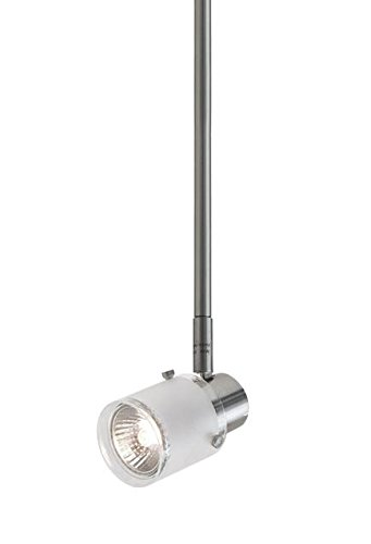 Radionic Hi Tech K_TKL_8847 Becca 1 Light Brushed Nickel Track Light, 5''