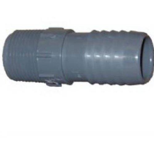 Genova Products 380404 PVC Insert Mip (I x M) Adapter, 1 1/4