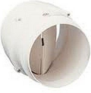 soler & palau; cm-130; compuerta antirretorno de plástico para ... - Extractor Bano Valvula Antirretorno