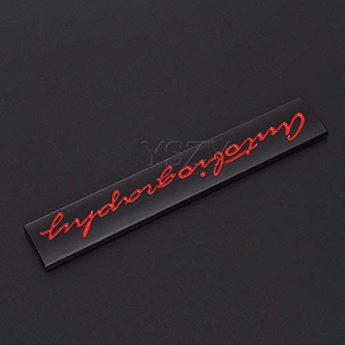 Fashion Metal Car Stickers Emblem Auto Badge Decal for Land Rover Ranger Rover L405 Sport Autobiography Evoque Freelander Color Name: White