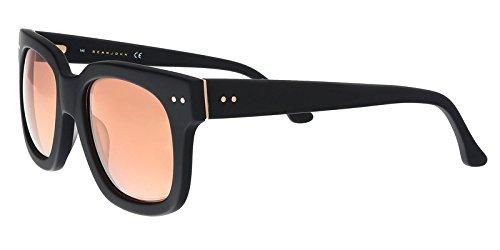 Sean John SJ556S 001 Black Square Sunglasses for ()