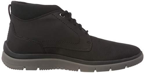 Nero Sneaker Uomo Tunsil Alto Collo black Mesh A Mid Clarks Ux6f0qaO