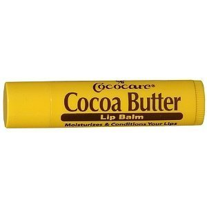 Cococare Cocoa Butter lip balm - 0.15 Oz(Pack Of 5) (Best Cocoa Butter Lip Balm)