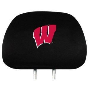Wisconsin Badgers NCAA Headrest Covers