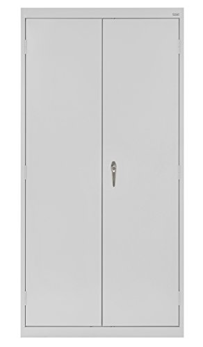 Buddy Products Cabinet, Welded Storage Cabinet, Dove Gray (CA41361872-05BP) ()