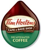 TIM HORTONS DECAF COFFEE T DISCS 56 COUNT With Next Day Priority Mail Shipping !