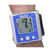 N American Healthcare Wristech Blood Pressure Monitor with Case, Health Care Stuffs