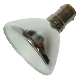 Philips 34091-9 - GBK - Stage and Studio - R56 - Flood - Frosted Front Glass - 50 Watt Light Bulb - 12 Volt - B15d Base - 3000K