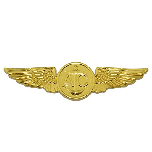 Navy Aircrew Gold Metal Auto -