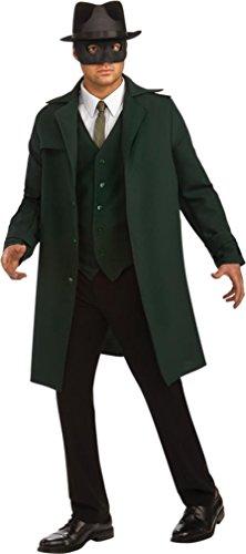 [Deluxe Green Hornet Costume for Men by Rubies] (Green Hornet Costume Men)