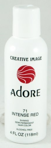 Adore Creative Image Hair Color #71 Intense Red by Creative Images Systems