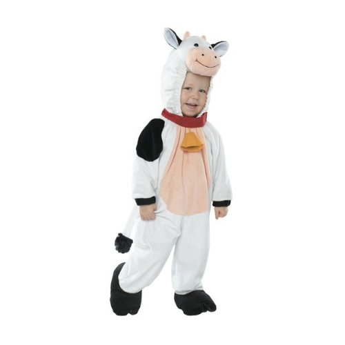 Toddler Cow Costume: Size 6-12m