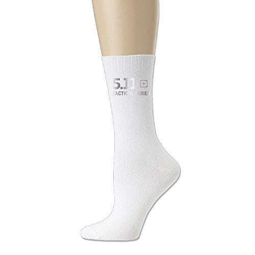 5.11 Tactical Logo Unisex Cotton Socks White ()