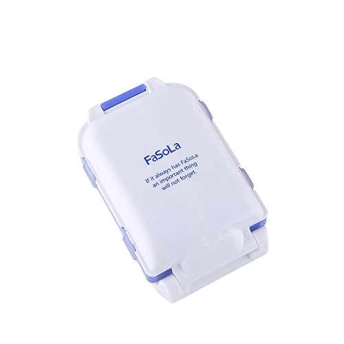 FaSoLa Portable Pill Case Blue product image