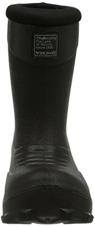 Viking Frost Fighter, Boys Multisport Outdoor Shoes, Black (Black), 6 Child UK (23 EU)
