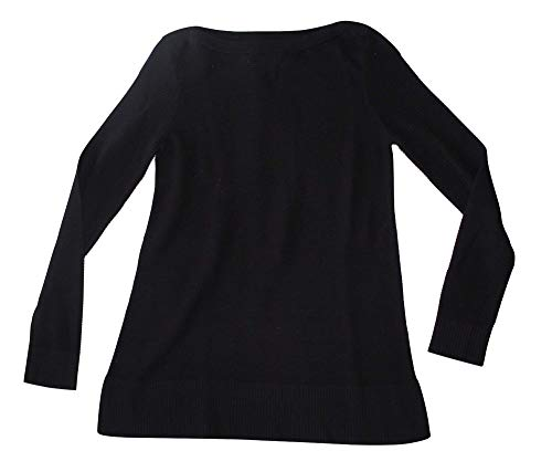 Ann Taylor Factory Women's Boatneck Tunic Sweater (Small) Black 479413 from Ann Taylor Factory