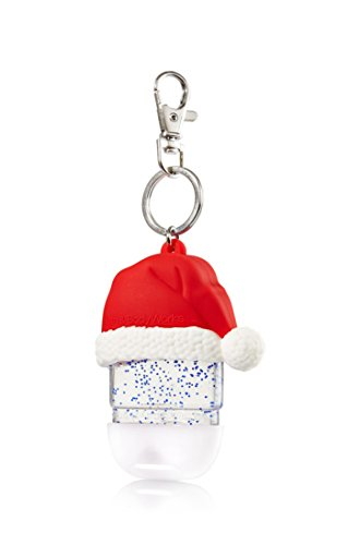 Holder - for Christmas Winter Pocketbacs - works great with Holiday Traditions Pocketbacs - fits any Bath & Body Works 1.0 oz anti-bacterial hand sanitizer pocketbac gel (1 Ounce Antibacterial)