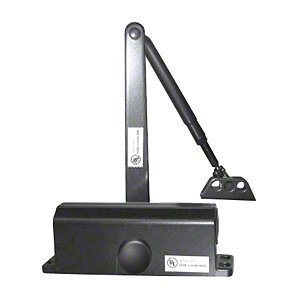 C.R. LAURENCE DC51BLK CRL Black ANSI Grade 1 Size 1 Light Duty Surface Mount Door Closer by C.R. Laurence by C.R. Laurence