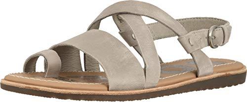 Suede Criss Cross - Sorel Women's Ella Criss Cross Slingback Sandal, Dove (9.5 M US)