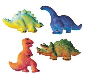 BundleOfBeauty Item#33985 Dinosaur Edible Sugar Cupcake amp Cake Decoration TopperPack of 16