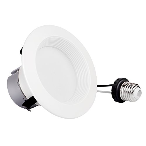 4inch Dimmable Retrofit LED Downlight, 8W (60W Equivalent),Replacement, EASY INSTALLATION, Retrofit LED Recessed Lighting Fixture, UL and ENERGY STAR Classified (3000K、4000、5000K (2 PACK, 5000K) by Bybon