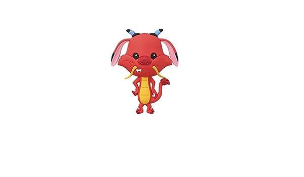 Llavero Disney Mulan Mushu Dragón Monogram Goma 7 cm Serie ...