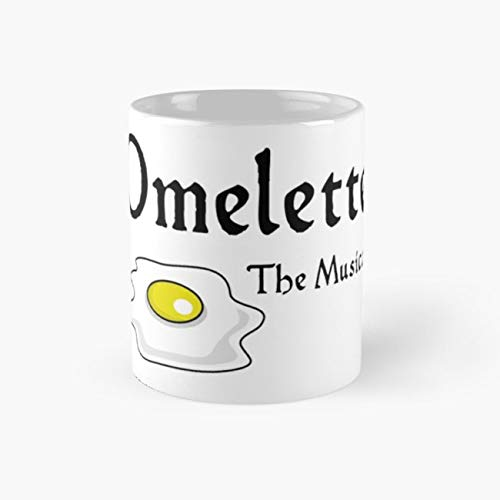 Omelette the Musical! (Something Rotten) Mug, broadway Tea Cups, 11 Ounce Ceramic Mugs, Perfect Novelty Gift Mug, Funny Gift Mug, Funny Coffee Mug 11oz, Tea Mugs
