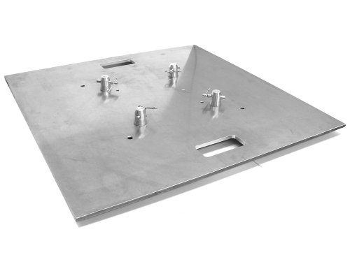 Global Truss Base Plate 30x30A, Aluminum with Handles ()