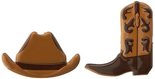 Eyelet Outlet Cowboy Shape Brads (12/Pack)