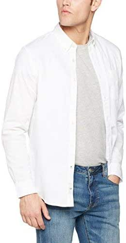 dockers Textured Dobby Shirt Camisa, Blanco (Paper White), X-Large para Hombre: Amazon.es: Ropa y accesorios